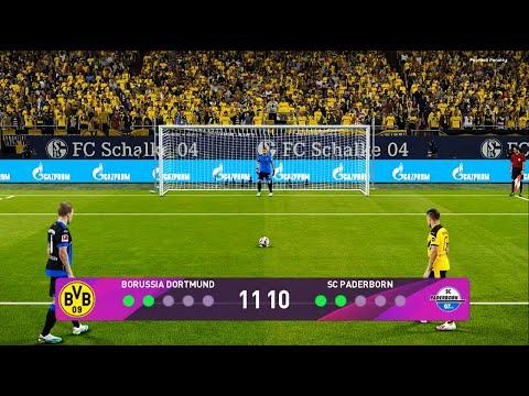 PES 2020   Borussia Dortmund vs SC Paderborn   Penalty Shootout   Gameplay PC