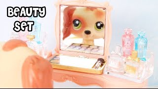 BEAUTY VANITY SET FOR LPS! Calico Critters Sylvanian Familities Department Store Unboxing Review