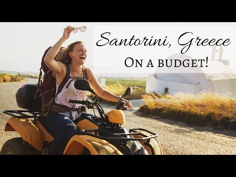 Santorini, Greece on a budget?!