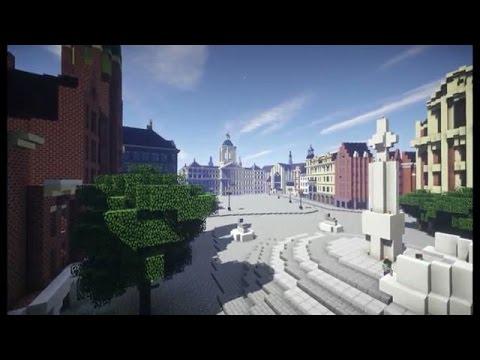 Minecraft-fans Bouwen Nederland Na (uit Bright TV)