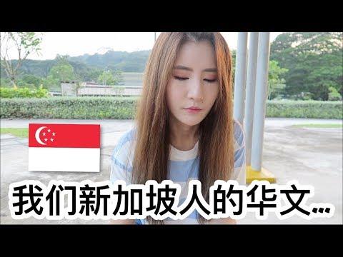 为什么我们要做新加坡华文视频? Singaporeans' Chinese... (Eng/Chi Sub)