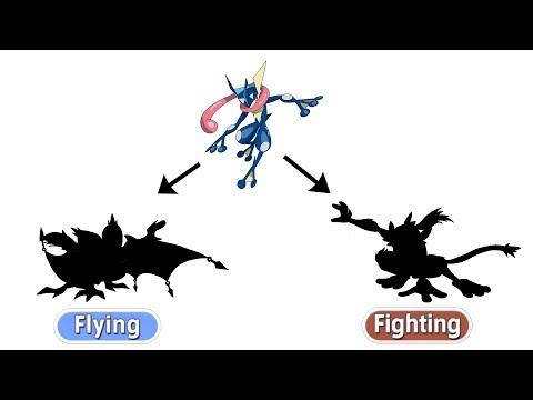 Greninja As Bat (Flying) & Monkey (Fighting) | Pokemon Gen 8 Fanart #18