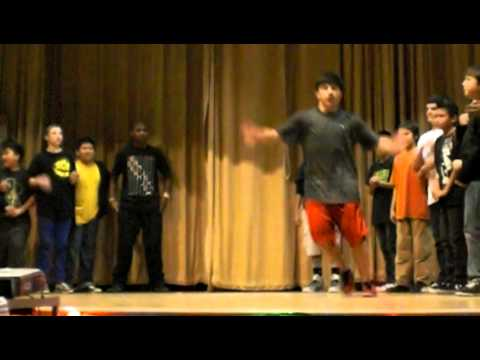 George Middle School breakdancing Sun school Showcase 12/10