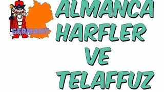 7dk'da ALMANCA HARFLER VE TELAFFUZ