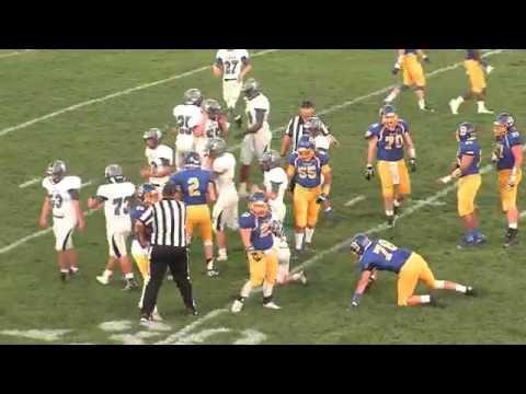 2016 Blacksburg High School Football: Carroll County vs Blacksburg