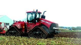 The Case Quadtrac 600 - first view, with cab ride.