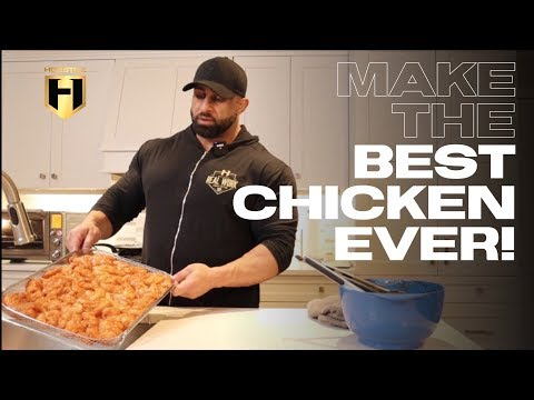 MUSCLE BUILDING MEALS | HOW TO MAKE THE BEST CHICKEN EVER!