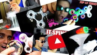TOP 5 BEST FIDGET SPINNER VIDEOS OF THE WEEK ~ NEW TRICKS DIY HOW TO AND RARE SPINNERS