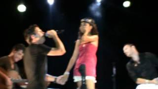 Andy & Lucas con fan - Por ella  (25Junio11)
