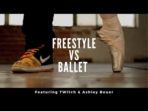FreeStyle vs. Ballet - TWitch and Ashley Bouder Commercial