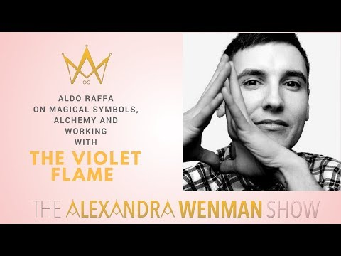 Aldo Raffa on Magical Symbols, Alchemy and working with The Violet Flame