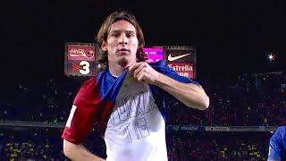 Come Leo Messi a 19 ANNI ha conquistato tutto il Camp Nou