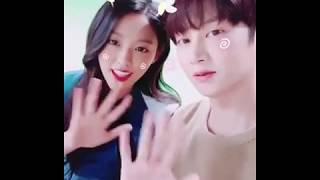 170904 Kim Heechul IG Update with AOA Seolhyun: Gmarket