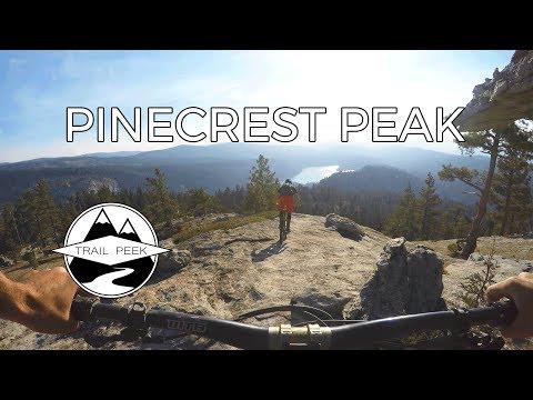 Sending the Slabs - Pinecrest Peak Trail - Mountain Biking Pinecrest, California