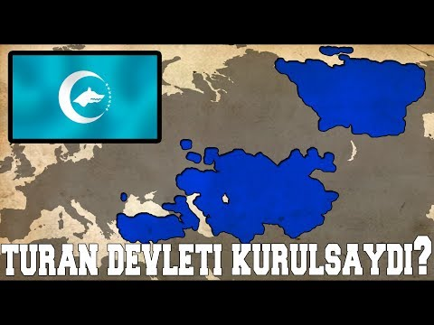 TURAN Devleti Kurulsaydı? (TURAN ORDUSU ve Türk Ülkeler)