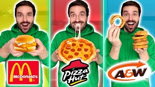 Je cuisine des recettes de FAST FOOD à la maison (MCDO, A&W, PIZZA HUT) - CARL IS COOKING
