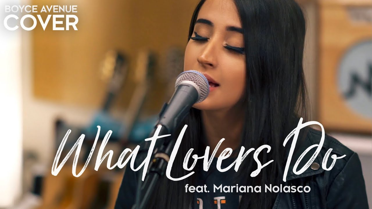 What Lovers Do - Maroon 5 (Boyce Avenue ft. Mariana Nolasco acoustic cover) on Spotify & iTunes