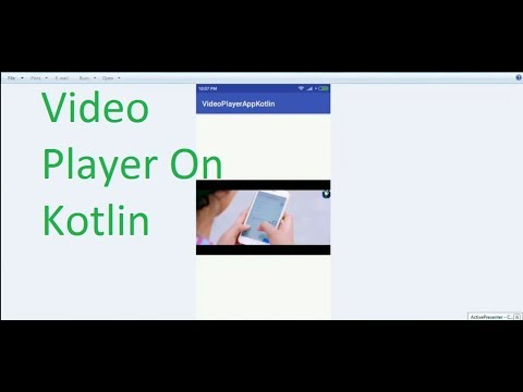 Create a Video Player App on Kotlin in Android Studio 3 0