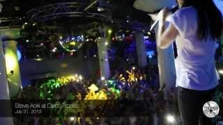 Steve Aoki at Disco Tropics - Lloret de Mar, July 31, 2013