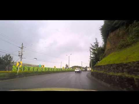 Taxi ride from Medellin airport to El Poblado Copyright and Royalty Free (no audio)