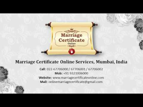 Online Booking Office In Thane For Marriage Certificate  Youtube