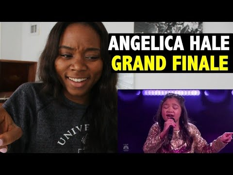 ANGELICA HALE - GRAND FINALE - AMERICA'S GOT TALENT 2017 - REACTION