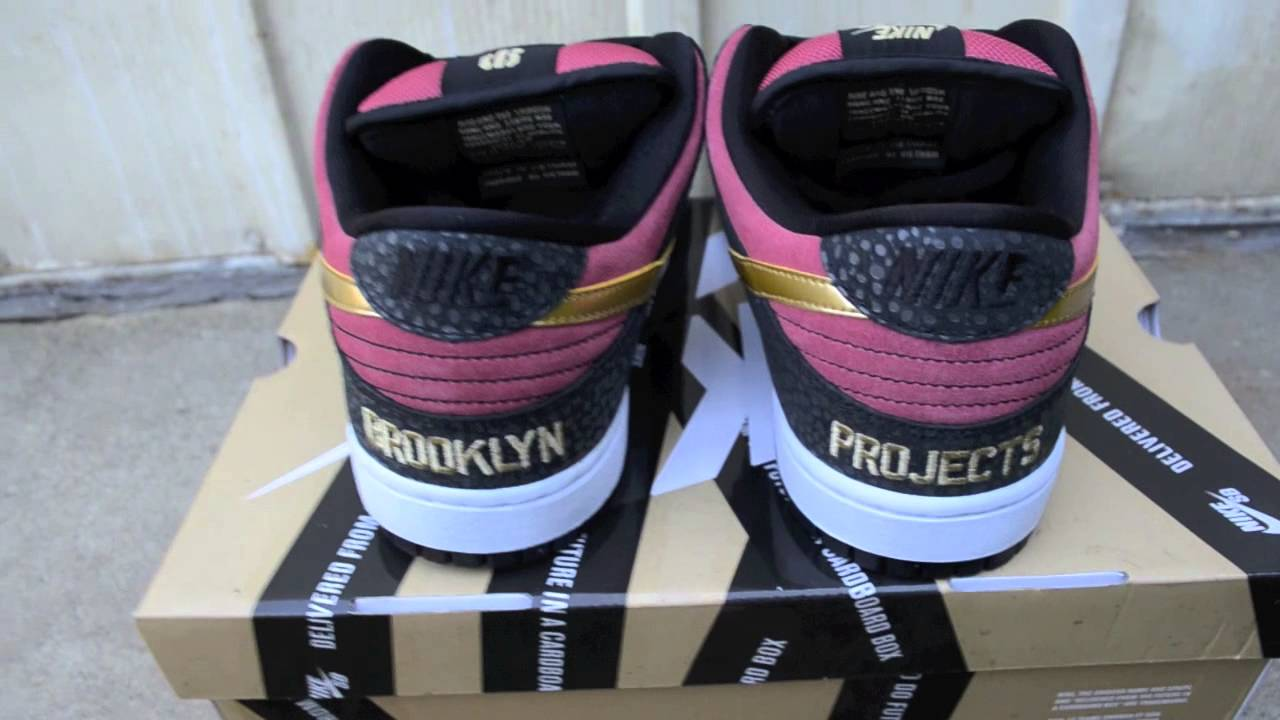 Walk of Fame Nike SB Dunk Low Brooklyn Project WOF In Store Release Pick Up  - YouTube