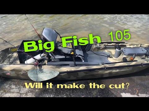 Big Fish 105 0n the water PT2! Will it make the CUT??