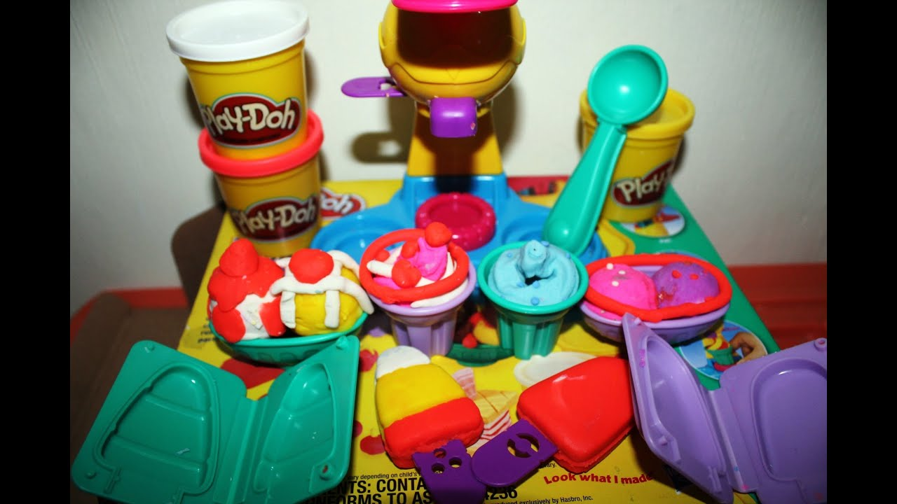 """Play Doh"""" Ice Cream Double Twister by Hasbro Play Doh Playset Kids"""