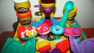"""play-doh"" Ice Cream Double Twister By Hasbro Play-doh Playset Kids' Toy"