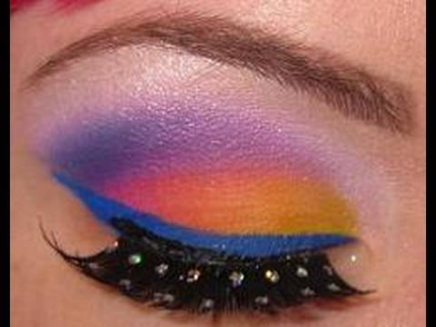 Lisa frank ed hardy inspired makeup youtube - Ed hardy lisa frank ...