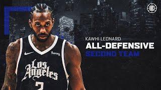 𝟕𝐱 𝐀𝐥𝐥-𝐃𝐞𝐟𝐞𝐧𝐬𝐢𝐯𝐞 𝐓𝐞𝐚𝐦 Kawhi Leonard's Best Stops From the Season | LA Clippers