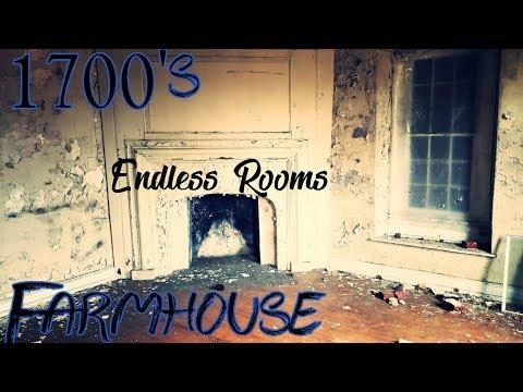 Gigantic Abandoned Farm House - Dating Back To 1700s