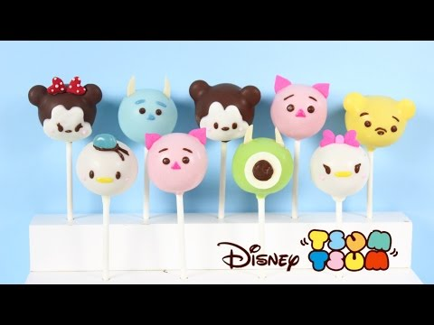 How to Make Disney Tsum Tsum Cake Pops!