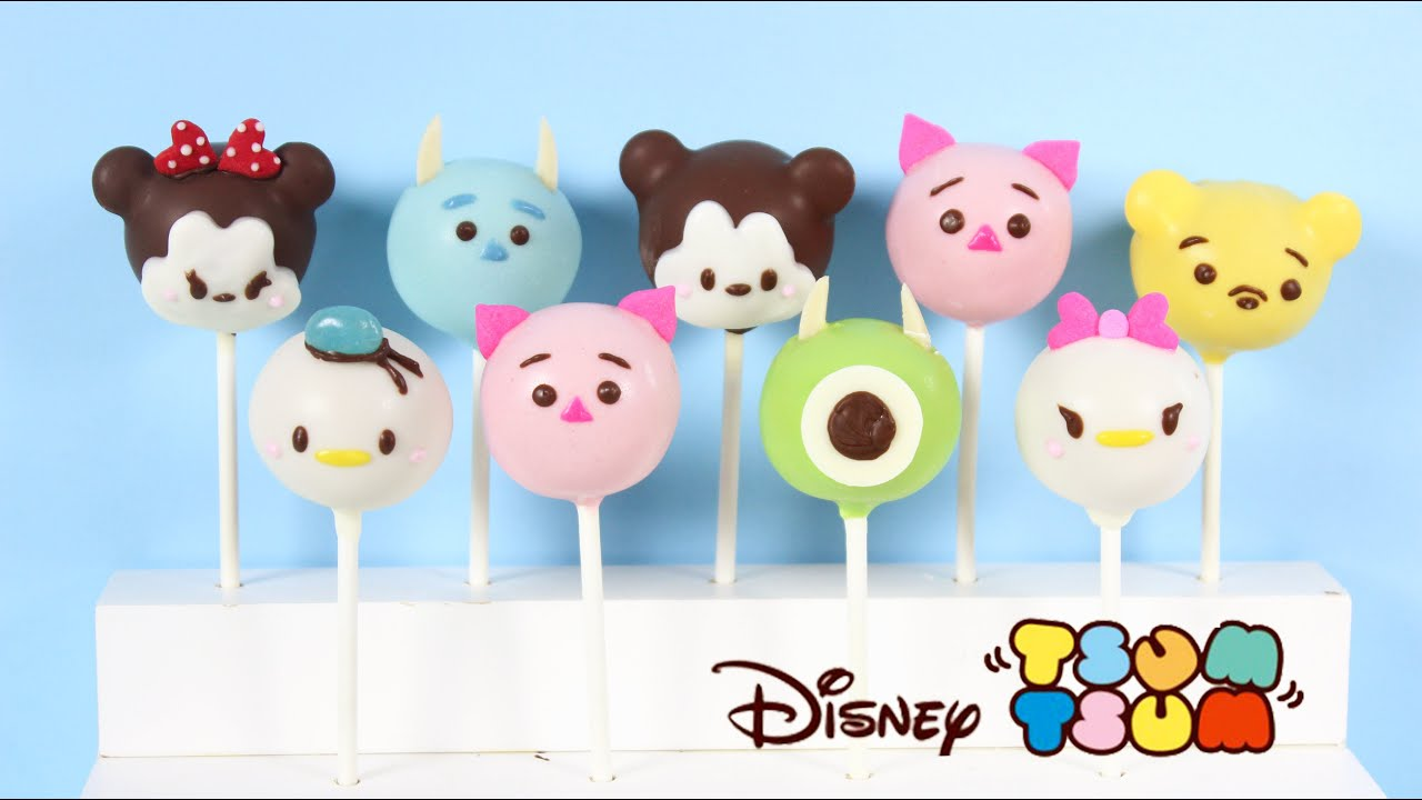 How To Make Tsum Tsum Cake