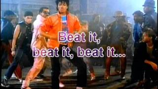 Michael Jackson - Beat It Lyrics (HQ)