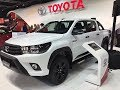NOVEDAD: TOYOTA HILUX LIMITED 2018