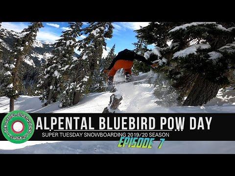 Alpental Bluebird Powder Snowboarding // Summit At Snoqualmie Episode 7