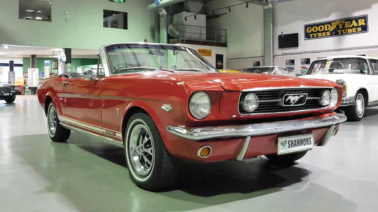 1966 Ford Mustang Convertible (RHD) - 2020 Shannons Autumn Timed Online Auction