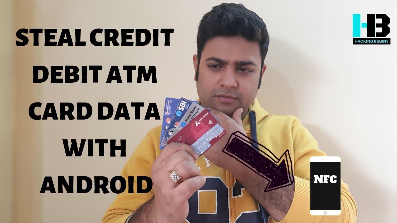 Android App Can Clone Your Debit or Credit Card | Hacking Begins | Sahil Mahajan