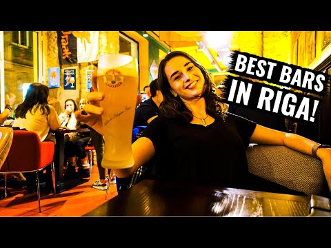 RIGA NIGHTLIFE | Visiting the Best Bars in Riga, Latvia!