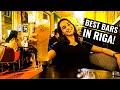 RIGA NIGHTLIFE   Visiting the Best Bars in Riga, Latvia!