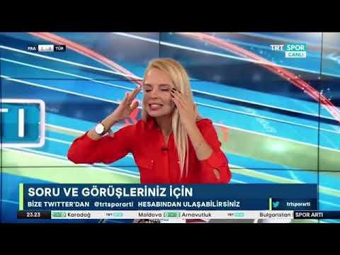 Yayın Esnasında Gelen Gole #DenizSatar 'ın Tepkisi - #TurkiyeFransaMaçı - #KaanAyhan 'ın Golü