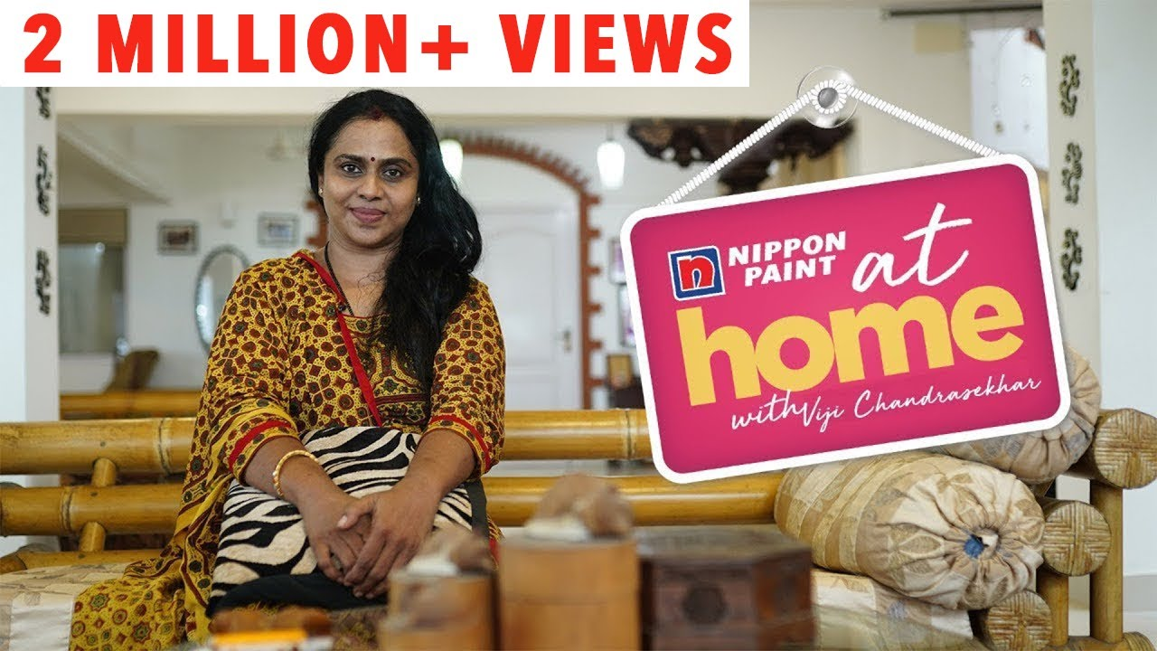 At home with Actress Viji Chandrasekhar Part 1  Home is a temple for me   JFW Exclusive
