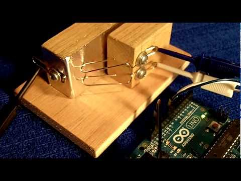 Arduino Punched Card Reader