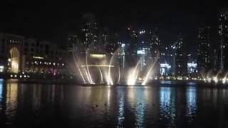 Dubai Water Fountain, Chinese Music