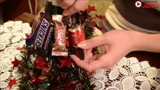 Видеоурок: новогодний подарок своими руками