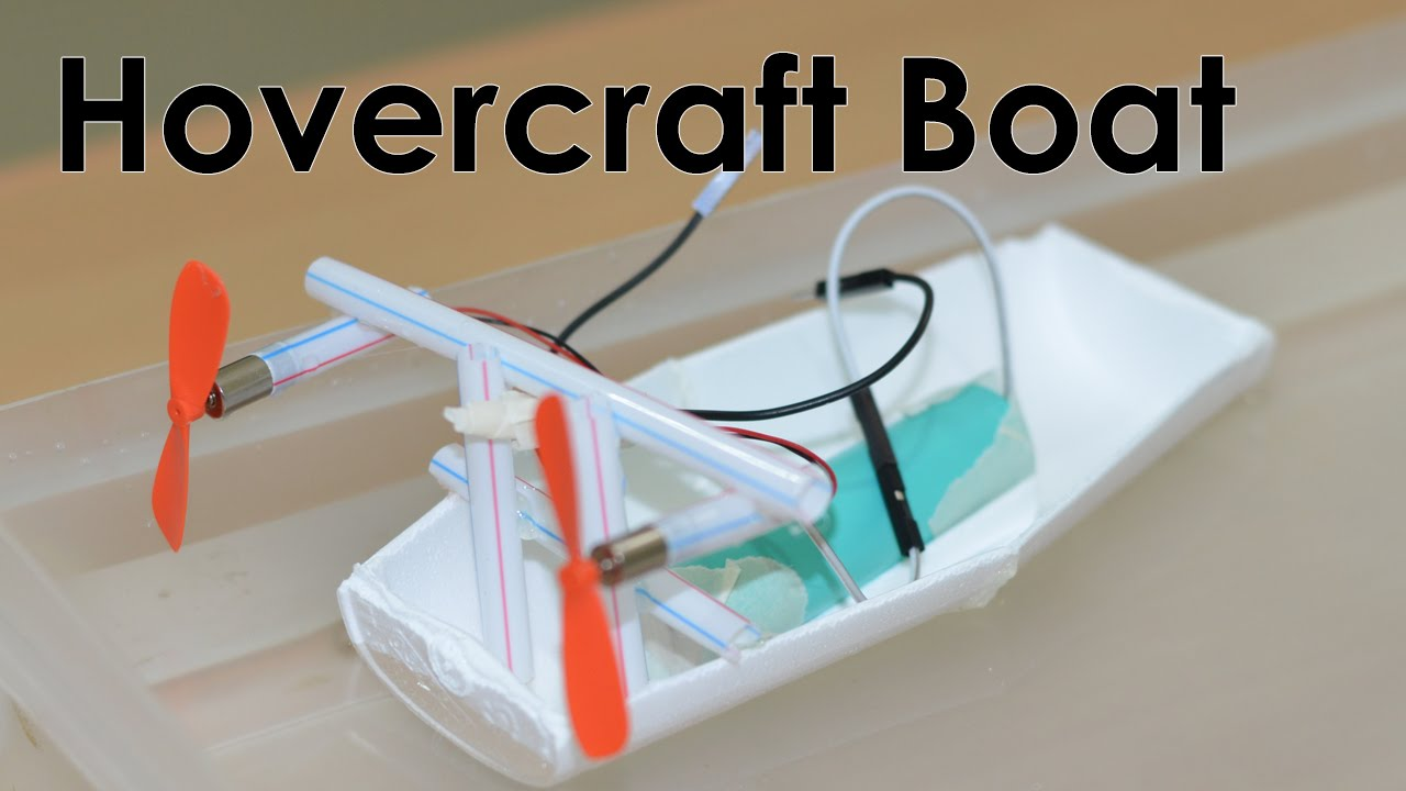 How To Make A Rc Toy Boat At Home