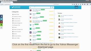 How to download Yahoo Messenger