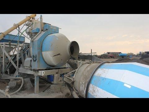 Mobile Concrete Batch Mixing Plant Video By Atlas Equipments